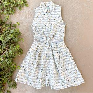 Samantha Pleet Scout Critter Print Mini Dress